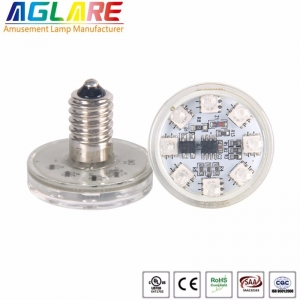 E14 auto program led rgb funfair led pixel lights ...