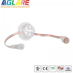 28mm 6leds clear shell pixel led lamp for amusemen...