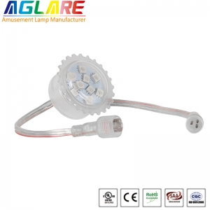 Programmable 35mm 9 smd 5050 rgb fun led amusement...