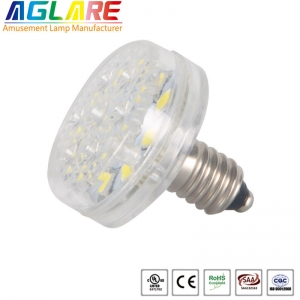 Single color 24V/60V/120V 14 LEDs E10 amusement le...