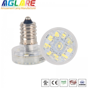 Single color 14 LEDs 24V/60V/120V E14 led holiday ...