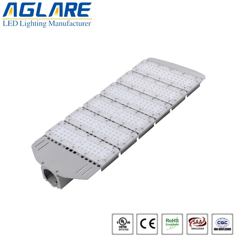 300W Ultra-thin SMD led street light fixtures