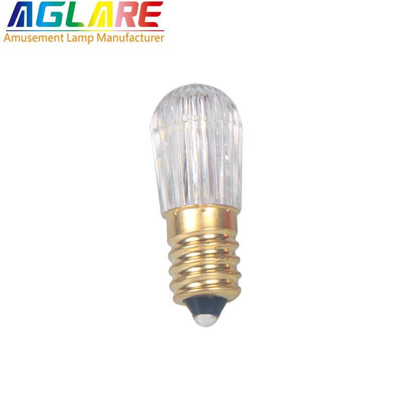 E14 6 Leds 1 Watt Smd3528 Amsement Single Color Led Bulb