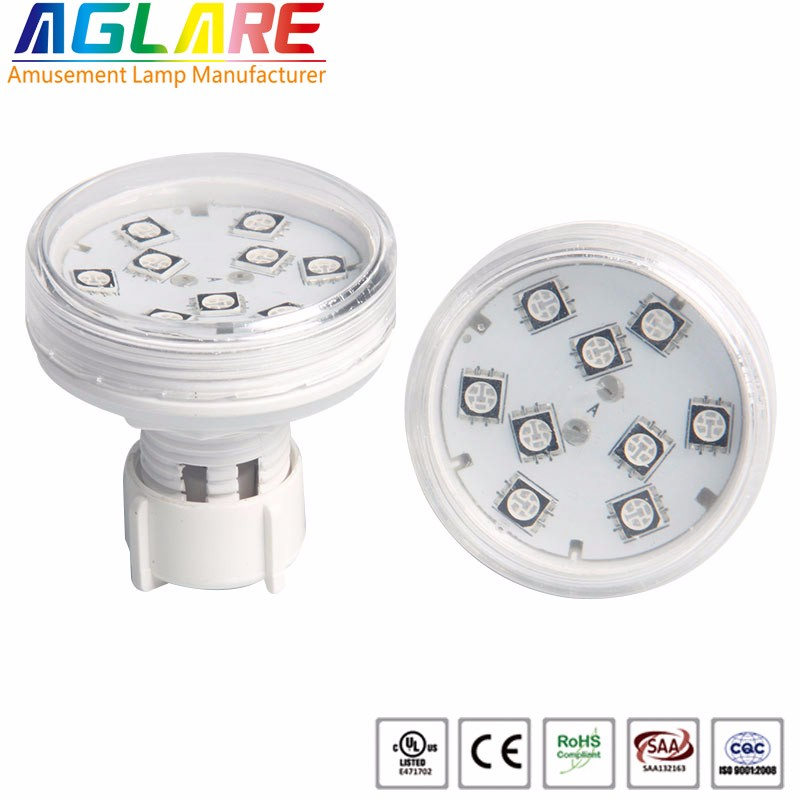 RGB 5050 cameleon LED auto running 45mm diameter e14 AC24V funfair lights