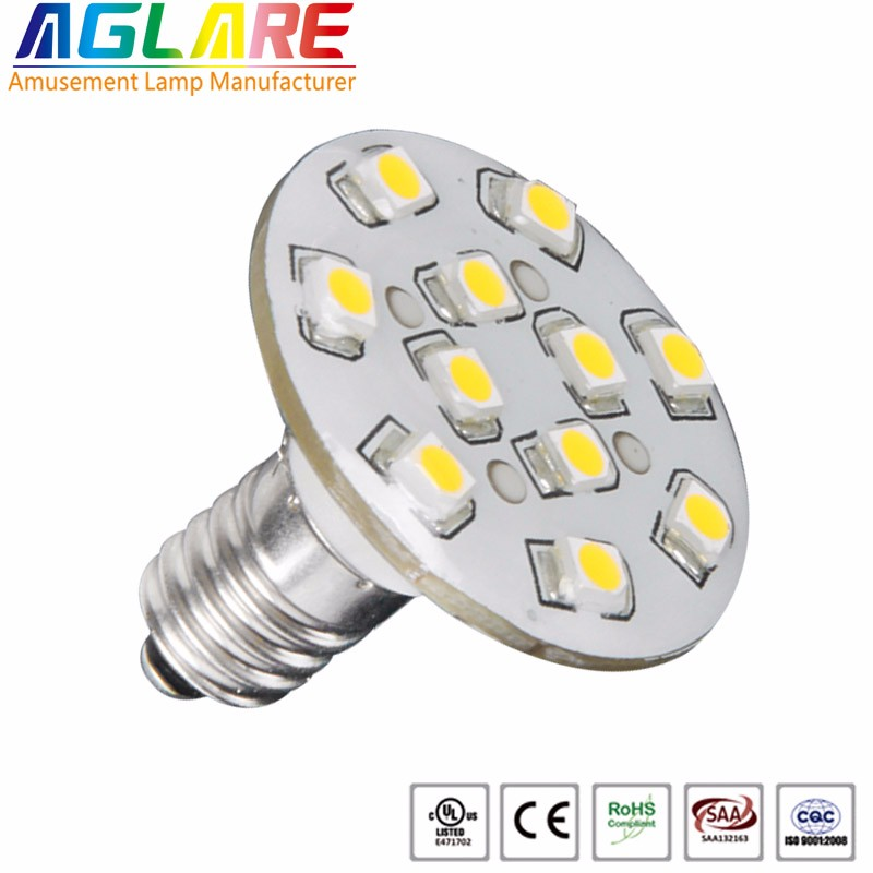E10 24v 60v 110v 220v led amusement light for carousel lamp ferris wheel
