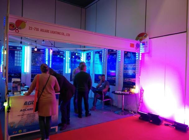 Congratulations on the success of Aglare lighting in the 2017 IAAPA EAS in Berlin