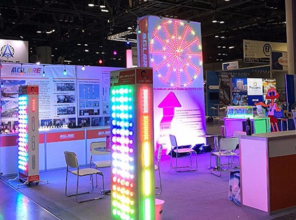 Aglare Lighting attended the IAAPA Attractions Expo 2017