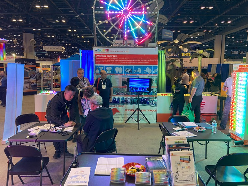 We took park in in the IAAPA USA Exhibition and achieved great success.